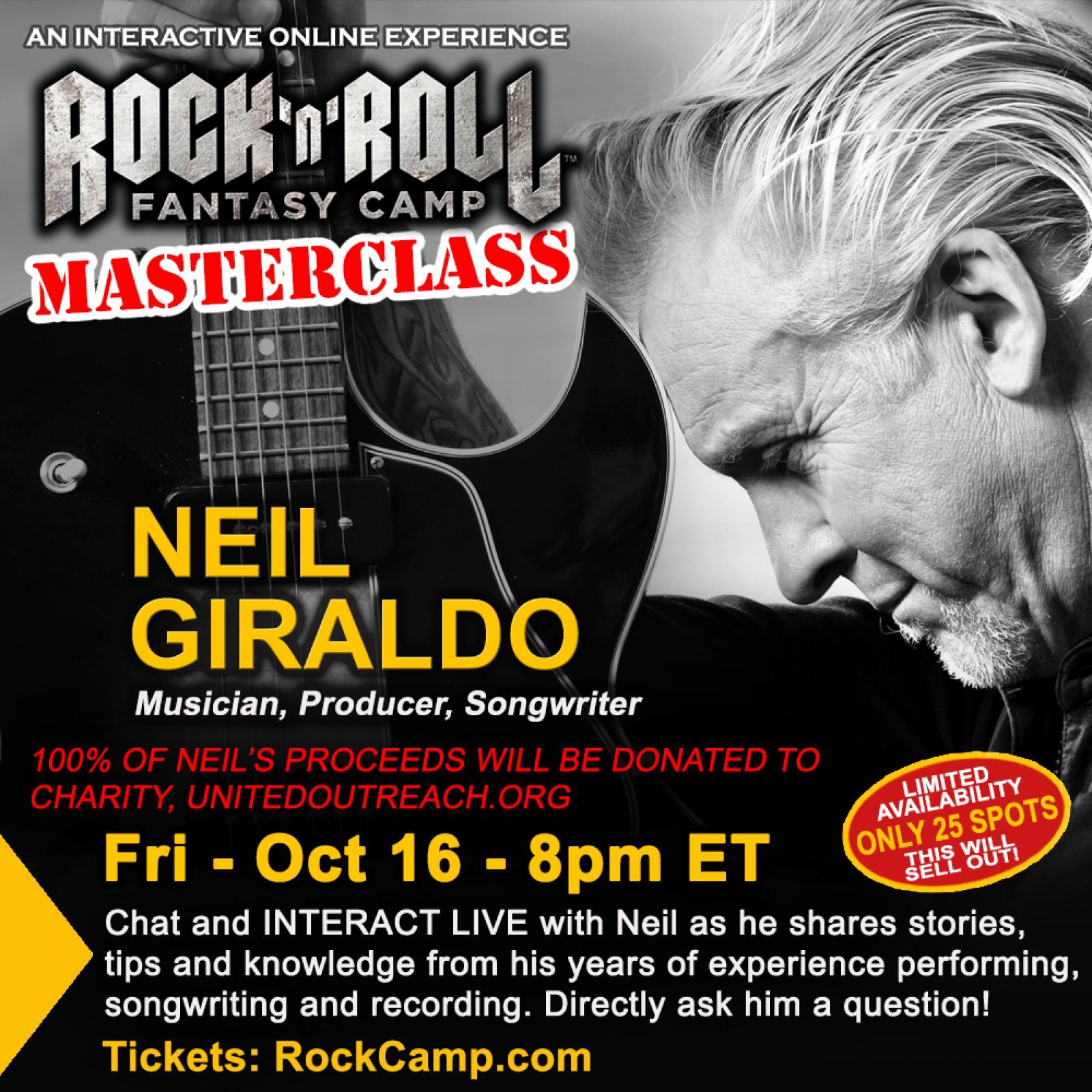 Masterclass with Neil Giraldo